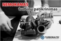 Nuimtos turbinos (turbokompresoriaus) patikrinimas NEMOKAMAI